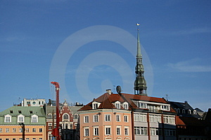 Crane In Oldtown Stock Photos - Image: 6348313
