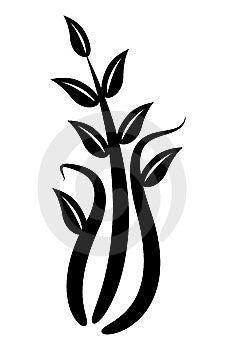 Floral Element Stock Image - Image: 6348361