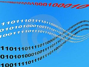 Wave Binary Data Stock Photos - Image: 6348753