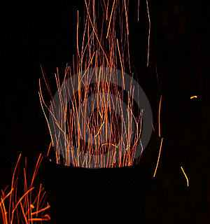 Sparks And Fire Royalty Free Stock Photography - Image: 6348767