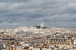 Roofs Of Paris Royalty Free Stock Photos - Image: 6352678