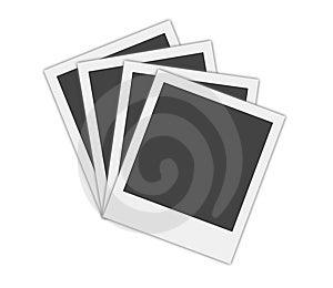 Blank Polaroid Frames Royalty Free Stock Image - Image: 6354666