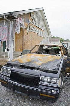 Car Fire Stock Photos - Image: 6355943