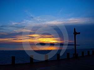 Sunset Langkawi Beach Two Stock Photography - Image: 6357612
