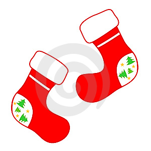 Christmas Socks Stock Photos - Image: 6358213