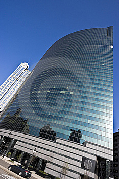 Merchandise Mart Reflected Stock Images - Image: 6359264