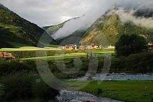 Het Landschap Na De Regen Royalty-vrije Stock Fotografie - Afbeelding: 6359747