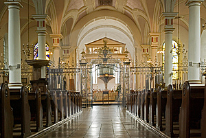 At The Cathedral Stock Image - Image: 6363311