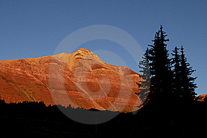 Mountains In Sunlight Royalty Free Stock Photos - Image: 6364628