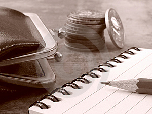Daily Calculation Royalty Free Stock Photography - Image: 6367887
