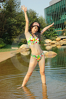 Bathing Beauty Royalty Free Stock Photos - Image: 6369198