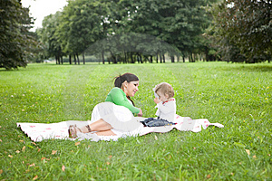 Mother And Daughter Royalty Free Stock Photography - Image: 6371997
