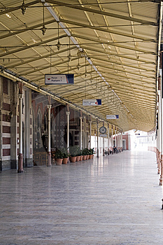 Railroad Station(Sirkeci Station In Istanbul) Stock Photography - Image: 6373592