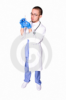 Professional Doctor Royalty Free Stock Images - Image: 6375089