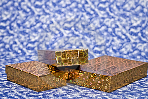 Gold Gifts Royalty Free Stock Images - Image: 6375919