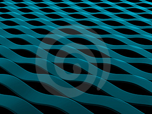 Abstract Blue Waves Royalty Free Stock Images - Image: 6380099