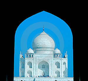 World Wonder Taj Mahal In Early Morning Royalty Free Stock Images - Image: 6381229