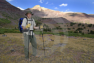 Person Hiking Stock Photography - Image: 6384392