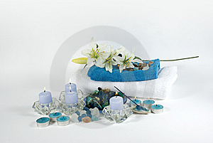 Aromatherapy Objects For Spa Royalty Free Stock Photography - Image: 6386277