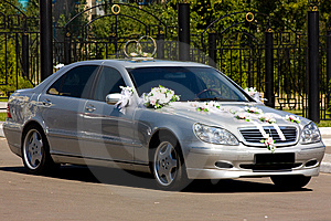 The Wedding Car Royalty Free Stock Images - Image: 6389079