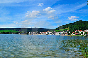 Lac De Joux Stock Photo - Image: 6390680