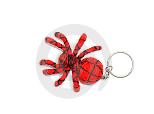 Handmade Spider Keychain Royalty Free Stock Photo - Image: 6391815