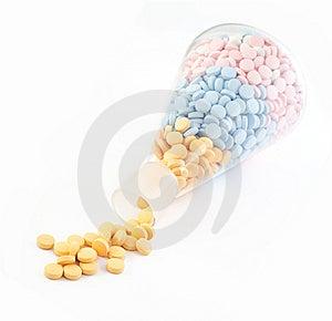 Comprimidos E Drogas Imagem de Stock - Imagem: 6392871