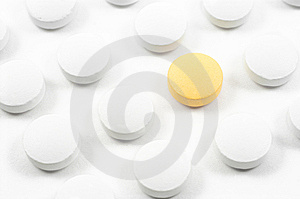 Pills And Drugs Isolated Stock Photos - Image: 6392953