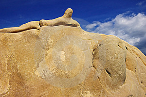 Surreal Stone Stock Photo - Image: 6393100