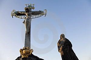 Statuary Of The Calvary Cross Royalty Free Stock Photography - Image: 6397607