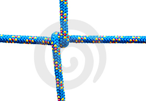 Rope Knot, Isolated Stock Images - Image: 6399854