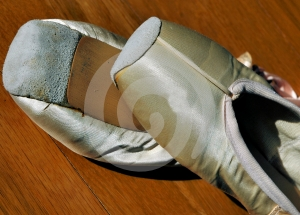 Ballet Shoes 1 Royalty Free Stock Images - Image: 640139