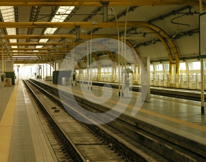 Railway Station Stock Image - Image: 641081