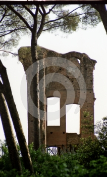 Ruined Wall Stock Photography - Image: 641612