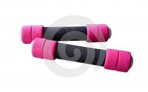 Dumbbell 4 Royalty Free Stock Image - Image: 644116