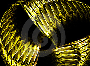 Gold Design Illustration Royalty Free Stock Images - Image: 6401119