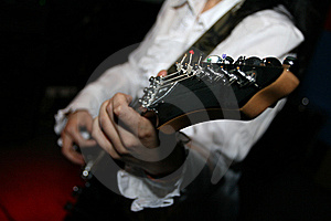 Playing Guitar Stock Photography - Image: 6404852