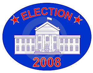 US Presidential Elections Stock Photography - Image: 6405462