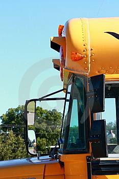 School Bus Side Stock Image - Image: 6407571