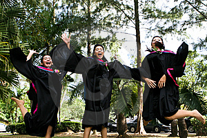 University Graduates Stock Photos - Image: 6409143
