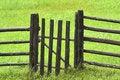 Countryside fence Stock Photos