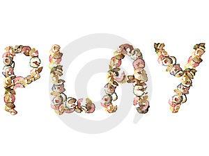 Jugar Fotografía de archivo libre de regalías - Imagen: 6411447