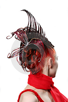 Creative Hairdress Royalty Free Stock Photo - Image: 6412205