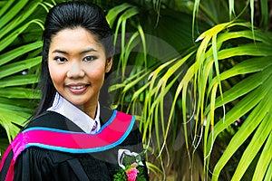 Asian Graduate Royalty Free Stock Photography - Image: 6412247