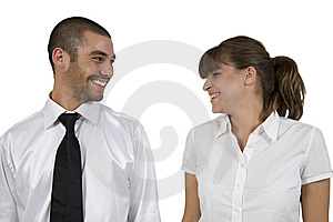 Laughing Executives Stock Images - Image: 6412854