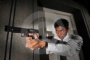 Agent/ Killer 109 Royalty Free Stock Images - Image: 6413489
