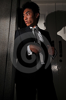 Agent/ Killer 116 Royalty Free Stock Photos - Image: 6414008