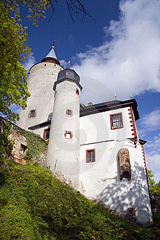 Castle Burg Posterstein Stock Photography - Image: 6416502