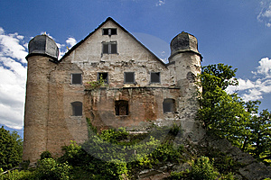 Castle Ruin Burg Schwarzburg Royalty Free Stock Photography - Image: 6416627