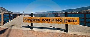 Kiwanis Walking Pier Royalty Free Stock Photos - Image: 6417468